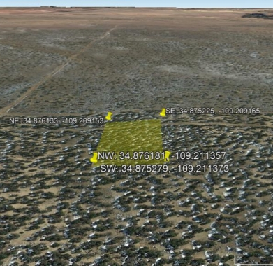 Google Earth Looking West