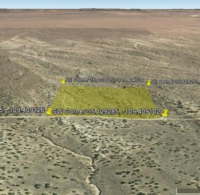 Google Earth looking East
