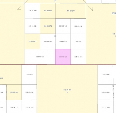 Mohave County GIS Image of Property