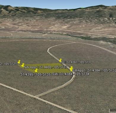 Google looking West