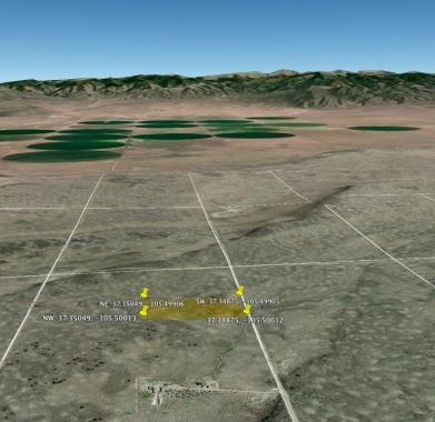 Google Earth - Looking East