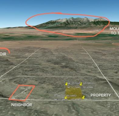 Google Earth - Looking North