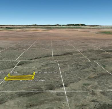Google Earth - Looking West