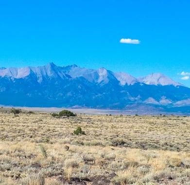 Looking North Toward Mt. Blanca