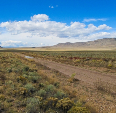 N side looking W along Hualpai